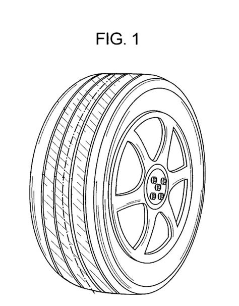 tractor tire coloring page image gallery tire outline
