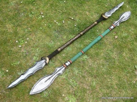 sided spear spear by schmiedetraum on deviantart