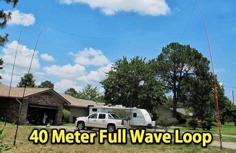 40 in meters 40 meter wave loop resource detail