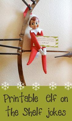 elf on the shelf printable joke cards 1000 images about inspiration ideas elf on shelf on