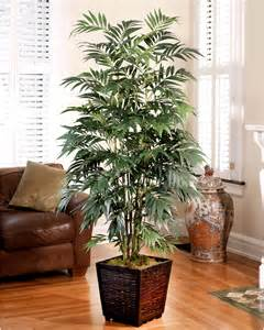 Artificial Home Decor Trees Decorate With A Customer Favorite 6 Silk Bamboo Palm