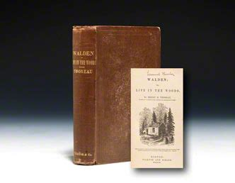 walden book 1st edition walden edition henry david thoreau bauman books