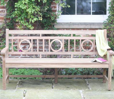 reclaimed garden bench rosemoor reclaimed garden bench 184cm