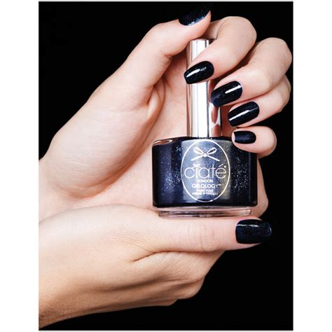 Ciate Nail Hut 13 5ml by Ciat 233 Gelology Nail Varnish Midnight In 13