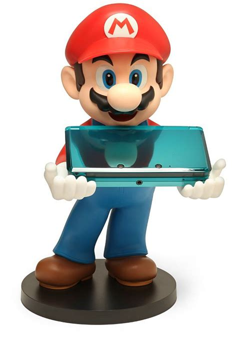 mario console figurine support mario pour consoles 3ds ds et dsi