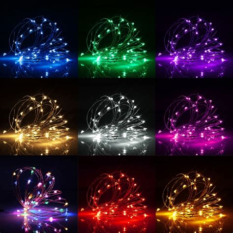Desktop And Monitor Usb Decoration Lights For Birthdays Or Chrismas by 5m 50 Led Usb Copper Wire Led String Light For