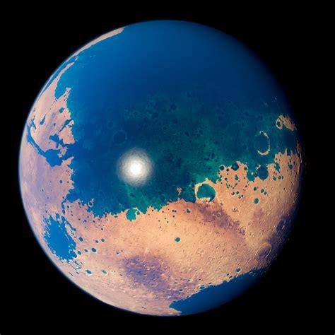 mars  oceans mars altimetry nasagoddard space