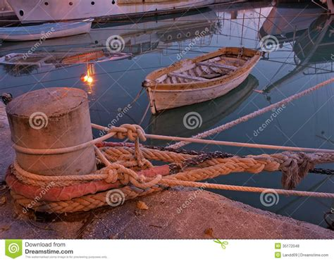 big boat rust litlle woden boats stock photo image of moored docked