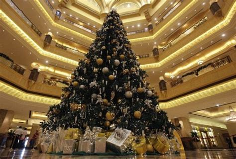 emirates palace issues apology after unveiling 11m tree