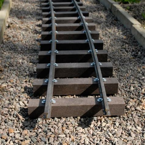 Plastic Sleepers by Buy 50mm X 50mm X 3m Recycled Plastic Model Railway