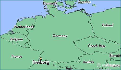 map of freiburg where is freiburg germany where is freiburg germany