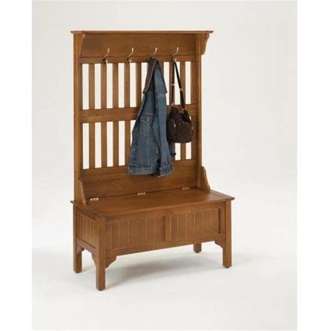 Coat And Shoe Rack With Bench by Home Styles 5649 49 Tree Storage Bench Coat Rack