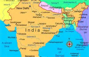 map of rivers and cities india rivers map maps of india