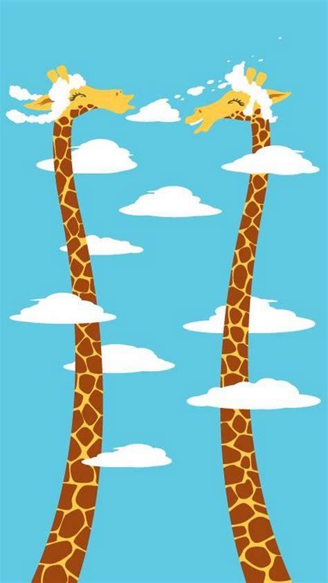 giraffe pattern iphone wallpaper cute giraffe hd wallpaper 2018 iphone wallpapers