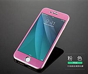 Kp1595 Iphone 6 6s Colorful Baby Pink Tempered Gla Kode Tyr1651 for iphone 6s plus 5 5 quot japan quality titanium alloy metal 3d tempered glass