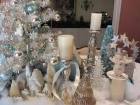 interior design log homes white and silver christmas decor