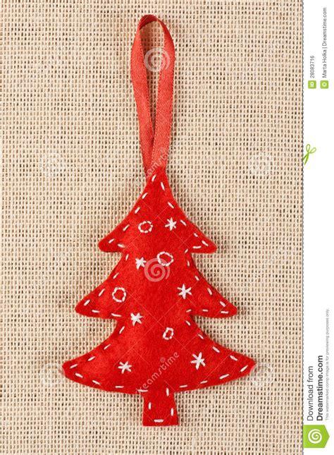 filz weihnachtsbaum lizenzfreies stockbild bild 28083716