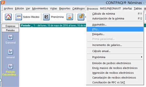 calculo isr 2015 ejemplos calculo ptu 2015 contpaqi isr calculo ptu 2015 contpaqi