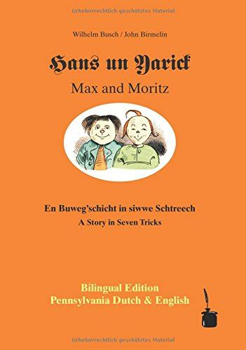 max and moritz bilingual edition german and german edition books biography of author walter sauer booking appearances
