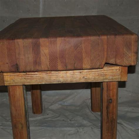 custom made butcher block handmade butcher block table by environmental builders