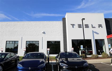 tesla dealership tesla powers on in richmond richmond bizsense