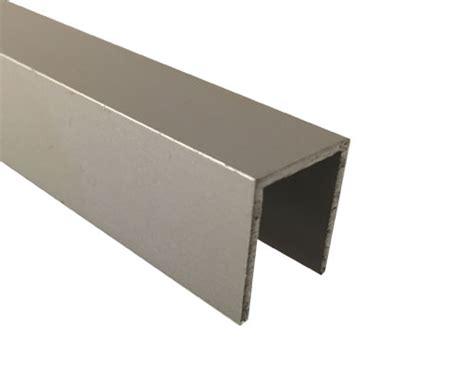 List Alumunium U inoxa se u list aluminium natur