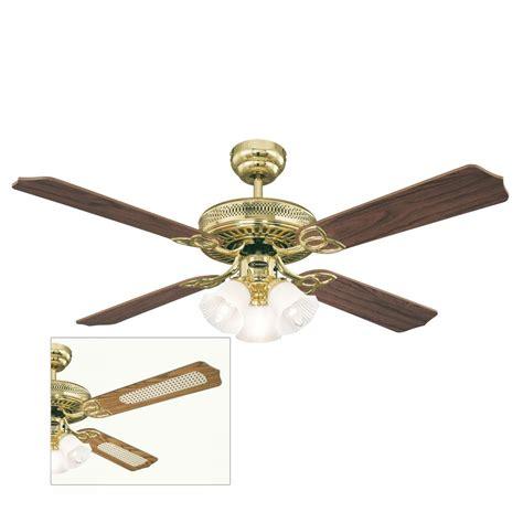 ceiling fans with blades monarch trio ceiling fan 132cm 52 quot westinghouse 78171