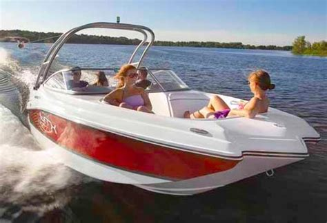 rinker boat construction rinker captiva 220 mtx runabouts new in louiseville qc