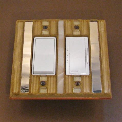 gold light switch covers 1000 images about stained glass switch plates on