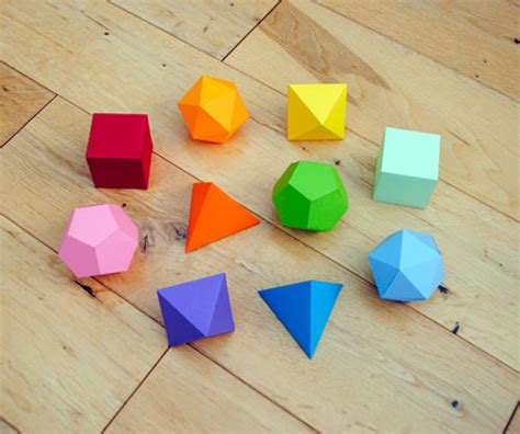 Origami 3d Shapes - 6 fabulous diy origami crafts handmade