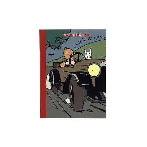 Calendrier Tintin 2018 Agenda De Poche Tintin 2018 Tintin Boutique
