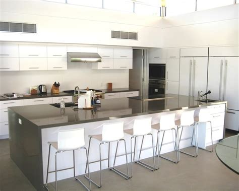 Kitchen Island Table by Large Kitchen With Huge Island Modern Kitchen Los