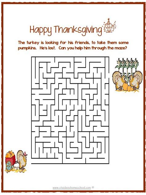 printable turkey puzzle homeschool thanksgiving sheets via free thanksgiving