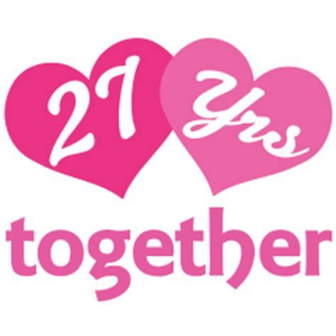 27th Anniversary Pink Heart Gift Ideas   Still In Love