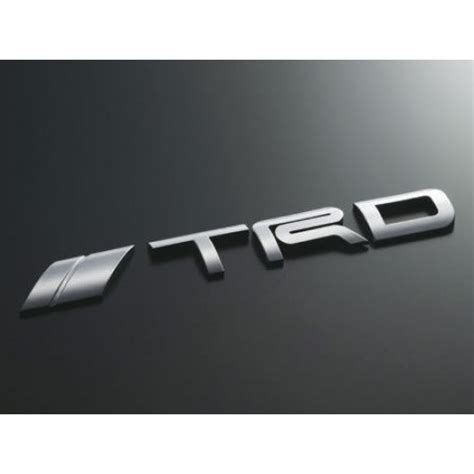 Emblem Logo Trd Kecil trd japan emblem logo type jdm toyota scion genuine jp toyota racing gazoo