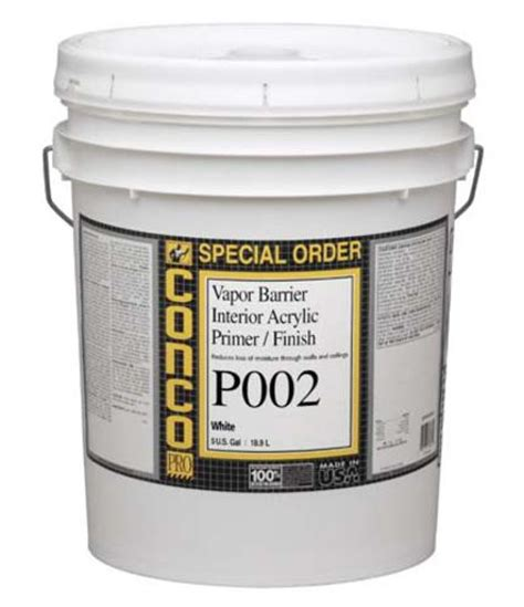 conco p002 interior vapor barrier primer and finish 5 gal