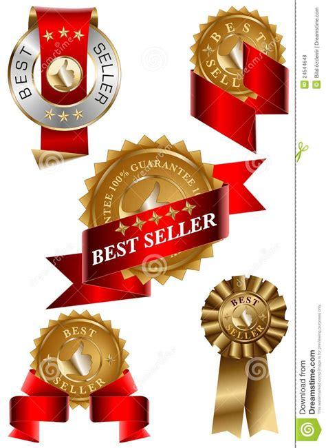 Best Seller 1895 Set Two In best seller label set royalty free stock photos image 24544648