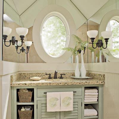 Southern Bathroom Ideas by Guest Bathroom Decorating Ideas Provide A Mirror