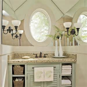 Southern Living Bathroom Ideas by Guest Bathroom Decorating Ideas Provide A Mirror