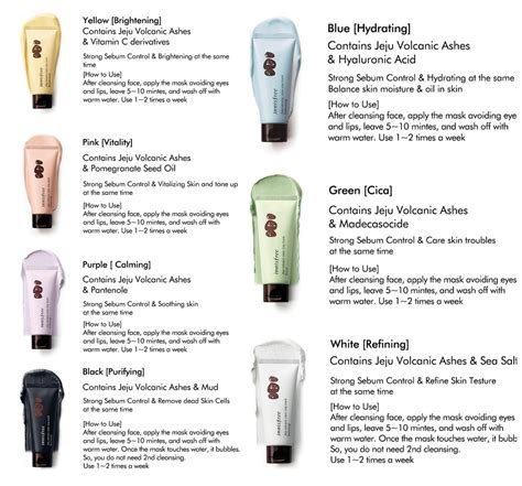 Innisfree Jeju Volcanic Color Clay Mask White Sleek 70ml innisfree jeju volcanic color clay mask make up depot ph