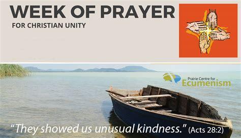 week  prayer  christian unity   celebrated jan    saskatoon catholic
