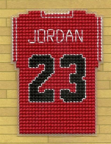 bead stores nj chicago bulls mini basketball jersey cross stitch by