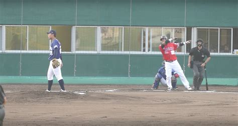 kochi fighting dogs manny ramirez smack his home run for the kochi fighting dogs mlb