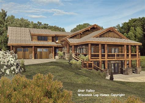 wisconsin log homes founder s