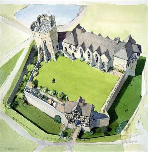 Harlech Castle Floor Plan by Stokesay Castle This Is The Basis For The Woodhall