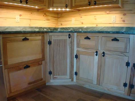 Bottom Kitchen Cabinets Handcrafted Soild Wood Hickory Kitchen Cabinets Bottom Hickory Cabinet Detail