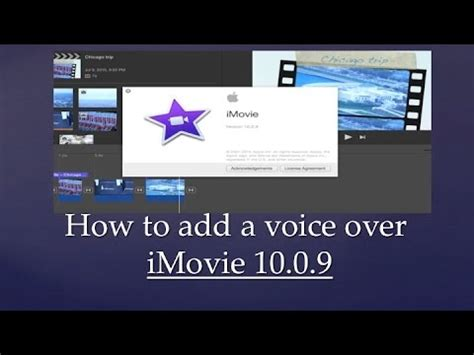 tutorial imovie 10 0 9 how to add voiceover in imovie version 10 1 4 how to