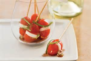 easy appetizers mini caprese bites quick and easy appetizer recipes southern living