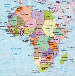 A Map Of Africa by Maps Africa