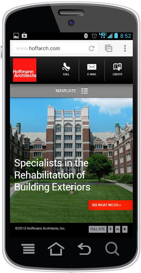 mobile site awards hoffmann architects inc hoffmann architects receives
